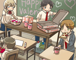 Chapter 45 - Valentine's Day Party