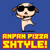 Anpan Pizza Shtyle T-shirt