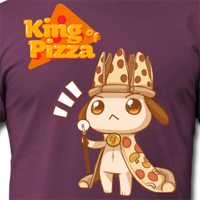 Anpan: King of Pizza T-shirt