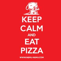 Eat Pizza T Shirt