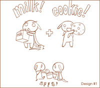 BFFs - Milk and Cookies