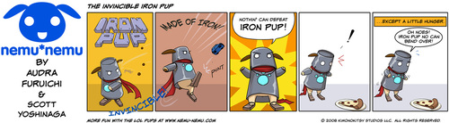 The Invincible Iron Pup