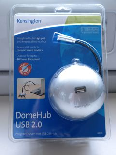 Kensington DomeHub USB2.0 in box