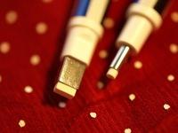 mono erasers closeup