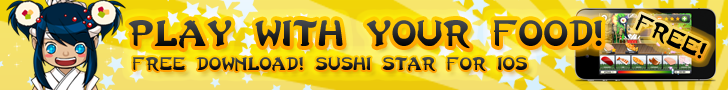Get Sushi Star App for FREE!