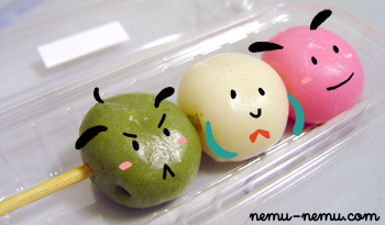 The 3 Dango Buddies