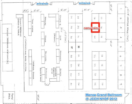 Manoa Ballroom Map