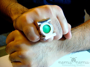 The Real Green Lantern Ring