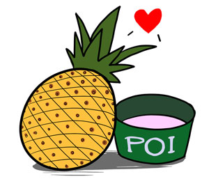 Pineapples & Poi Love