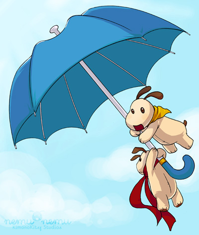 Like Mary Poppins!