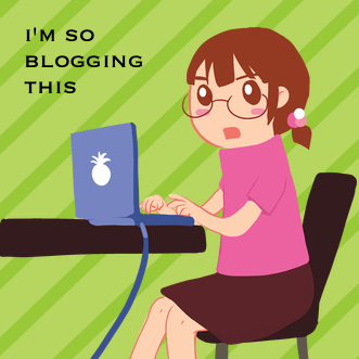 I'm So Blogging This...