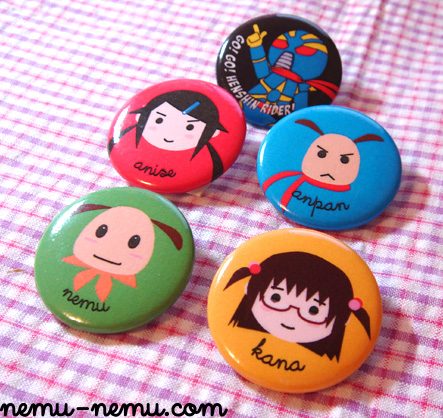 nemu limited edition pin badges