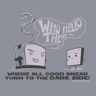 Thumbnail image for Where all good bread turn to the dark side!
